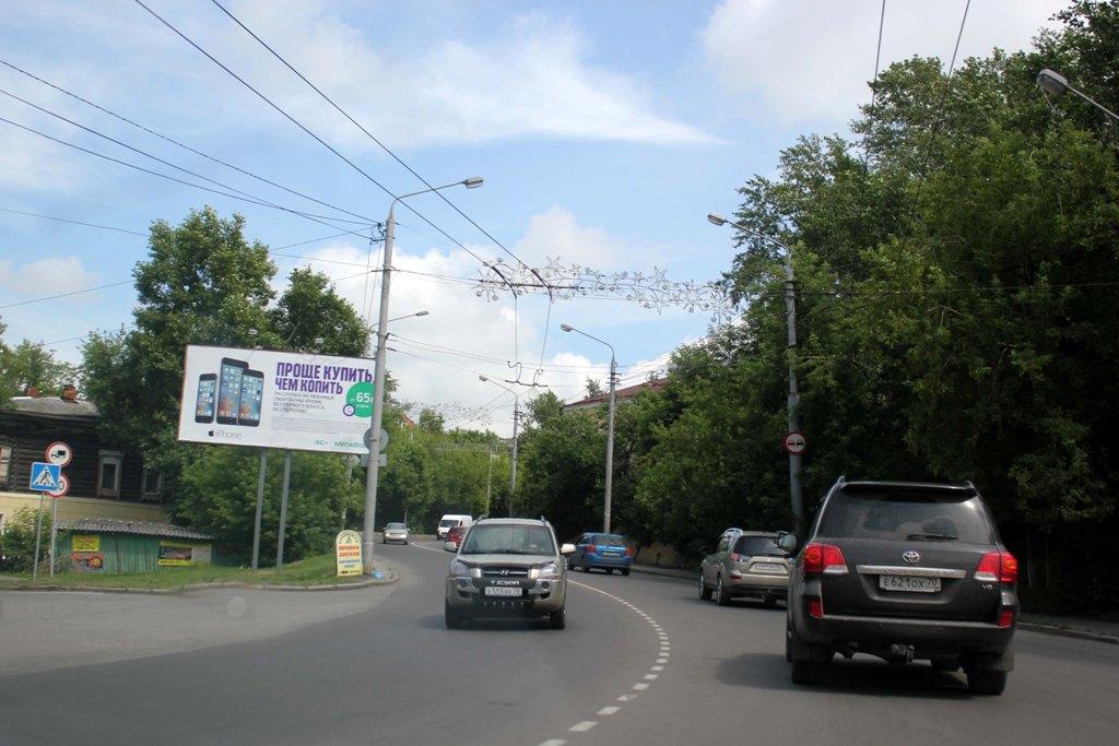Кузнечный взвоз- ул. Б. Подгорная