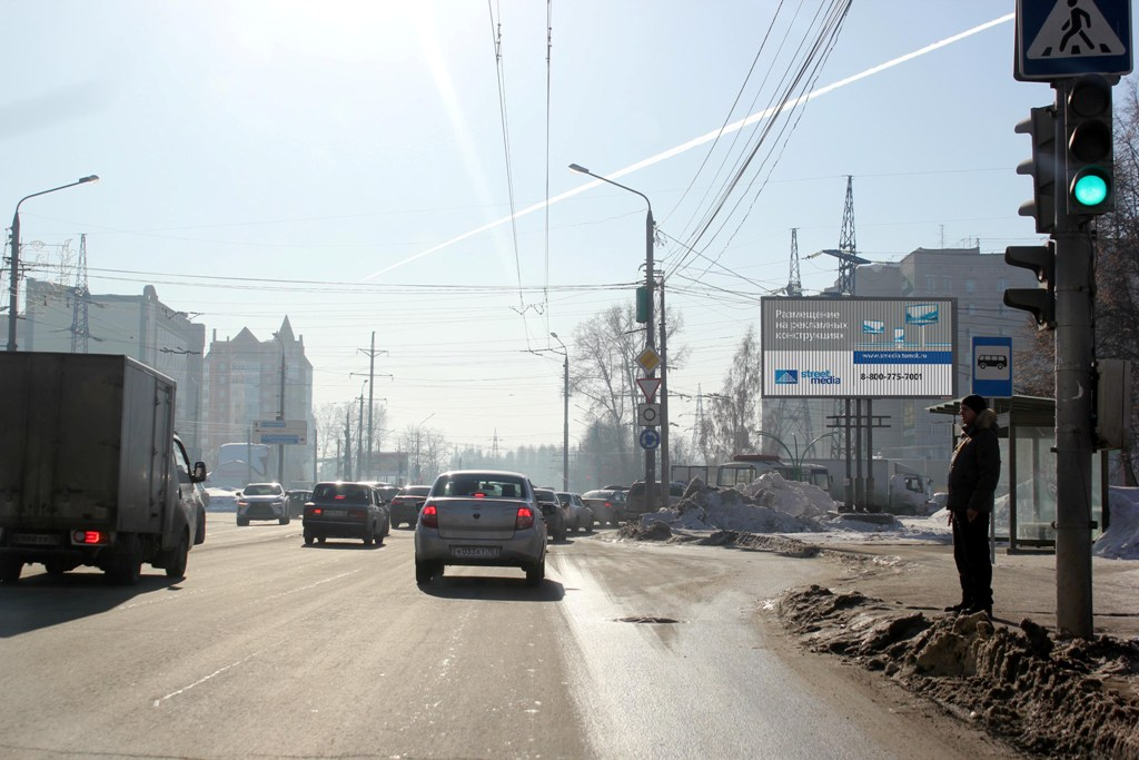 ул. Нахимова, 46 (пл. Транспортная) (призматрон)