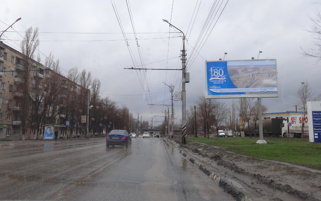 "Московское ш., 10Б - ул.  2-я Елшанская (АЗС ""ТНК"")"