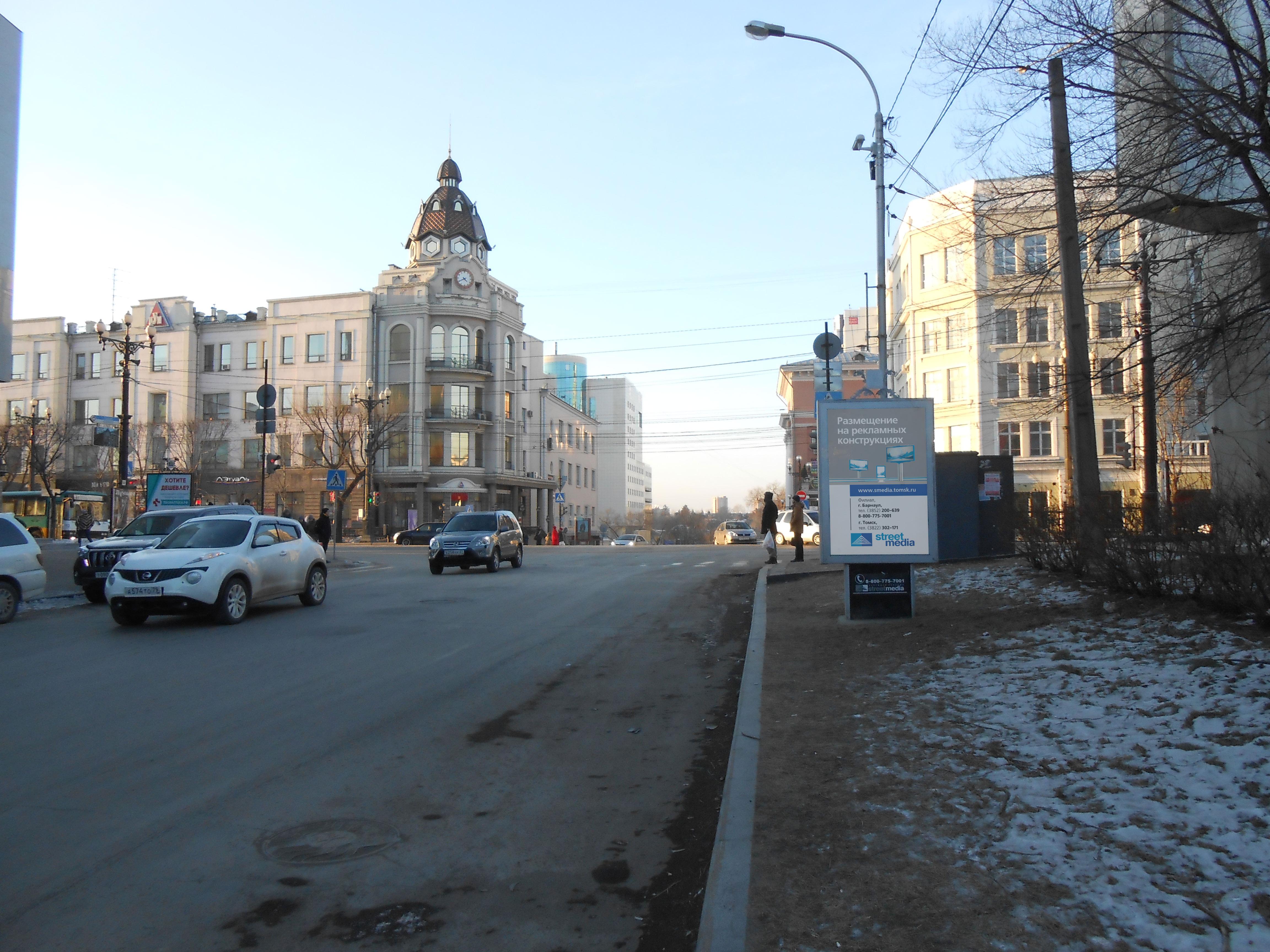 ул. Дзержинского, 42 - ул. Муравьева-Амурского