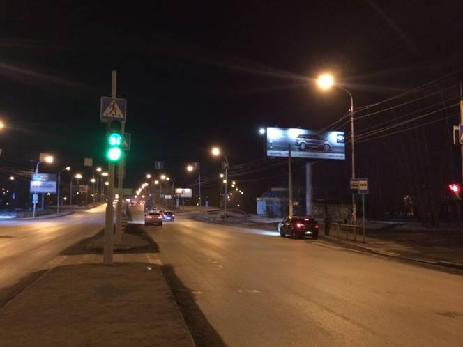 ул. Пермякова, 11 (ночные фото)