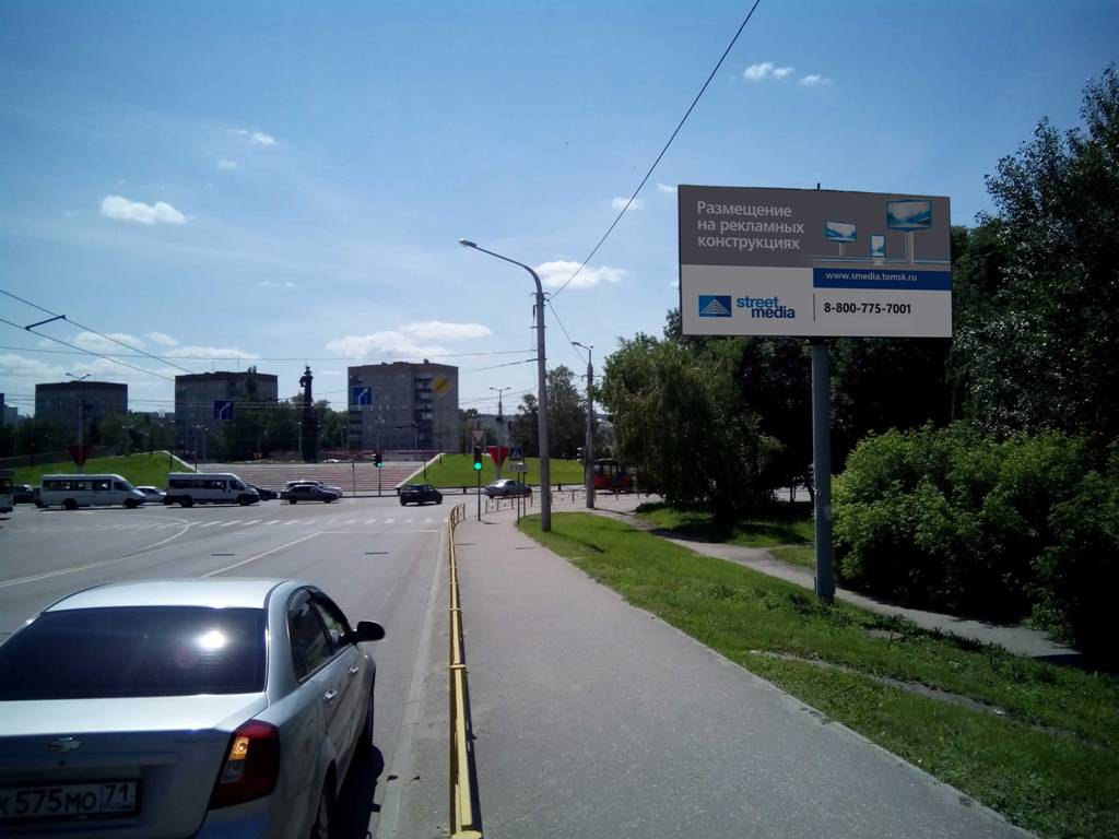 ул. Ленина (район д.19 по ул. Вяземского)