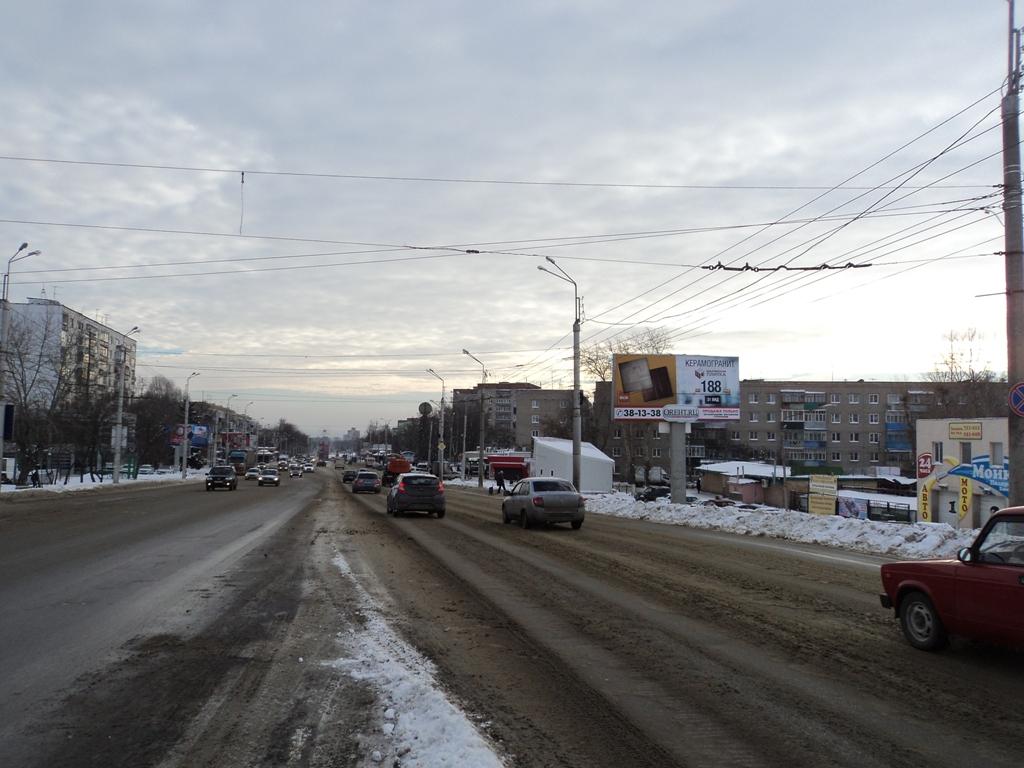 пр. Победы (район ул.Фурманова,1б)